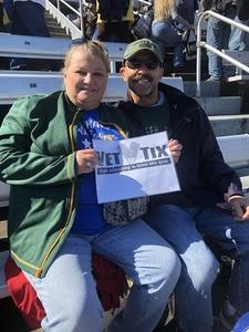 Stephen attended 2018 Martinsville Speedway First Data 500 on Oct 28th 2018 via VetTix