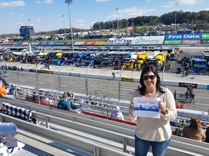 Casey attended 2018 Martinsville Speedway First Data 500 on Oct 28th 2018 via VetTix