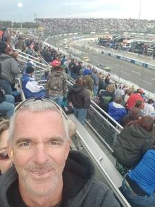 Brian Simonet attended 2018 Martinsville Speedway First Data 500 on Oct 28th 2018 via VetTix