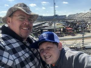 Keith attended 2018 Martinsville Speedway First Data 500 on Oct 28th 2018 via VetTix