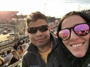 Tony attended 2018 Martinsville Speedway First Data 500 on Oct 28th 2018 via VetTix