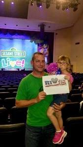 Click To Read More Feedback from Sesame Street Live! Make Your Magic - Saturday Afternoon Show