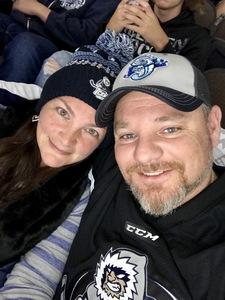 John attended Jacksonville Icemen vs. South Carolina Stingrays - ECHL on Oct 13th 2018 via VetTix