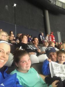 Wayne attended Jacksonville Icemen vs. South Carolina Stingrays - ECHL on Oct 13th 2018 via VetTix