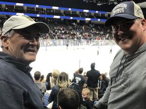 James attended Jacksonville Icemen vs. Florida Everblades - ECHL on Nov 3rd 2018 via VetTix