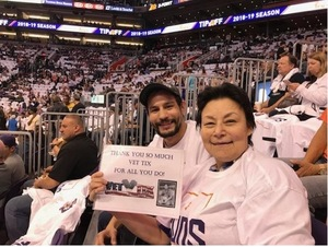 Click To Read More Feedback from Phoenix Suns vs. Dallas Mavericks - NBA