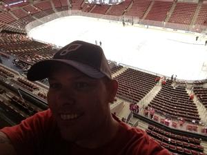 Daniel attended Florida Panthers vs. Columbus Blue Jackets - NHL on Oct 11th 2018 via VetTix