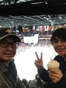 Marvin attended Arizona Coyotes vs. Vancouver Canucks - NHL on Oct 25th 2018 via VetTix