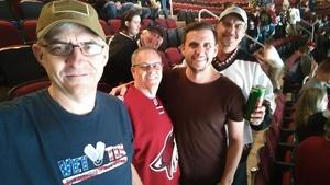 Rich attended Arizona Coyotes vs. Vancouver Canucks - NHL on Oct 25th 2018 via VetTix