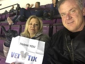 Greg attended Colorado College Tigers vs. Miami University - NCAA Hockey on Nov 16th 2018 via VetTix