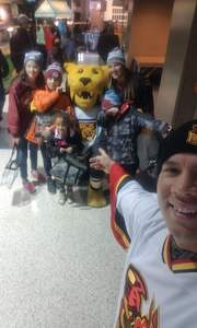 Melvin attended Colorado College Tigers vs. Miami University - NCAA Hockey on Nov 16th 2018 via VetTix