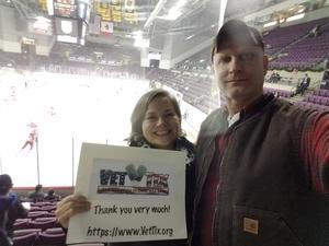 Michele attended Colorado College Tigers vs. Miami University - NCAA Hockey on Nov 16th 2018 via VetTix
