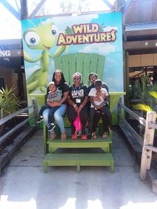 Patricia attended Kid-o-ween at Wild Adventures - 1 Ticket Valid for 4 People on Oct 13th 2018 via VetTix