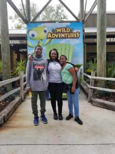 Kaleen attended Kid-o-ween at Wild Adventures - 1 Ticket Valid for 4 People on Oct 13th 2018 via VetTix