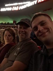 Ryan attended Eagles - Live on Oct 14th 2018 via VetTix