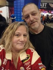 Traci attended Eagles - Live on Oct 14th 2018 via VetTix