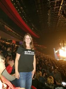 Kimberly attended Eagles - Live on Oct 14th 2018 via VetTix