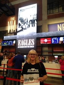 Tina IC3 attended Eagles - Live on Oct 14th 2018 via VetTix