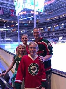 Justin attended San Jose Sharks vs. Minnesota Wild - NHL on Nov 6th 2018 via VetTix