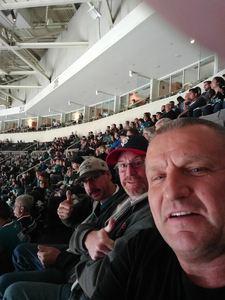 John attended San Jose Sharks vs. Minnesota Wild - NHL on Nov 6th 2018 via VetTix