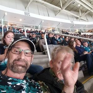 Earl attended San Jose Sharks vs. Minnesota Wild - NHL on Nov 6th 2018 via VetTix