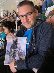 Jose attended San Jose Sharks vs. Minnesota Wild - NHL on Nov 6th 2018 via VetTix