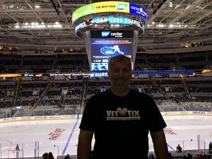 Gary attended San Jose Sharks vs. Minnesota Wild - NHL on Nov 6th 2018 via VetTix