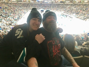 Brian attended San Jose Sharks vs. Minnesota Wild - NHL on Nov 6th 2018 via VetTix