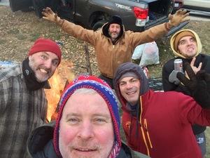 James attended Iowa State University Cyclones vs. Baylor Bears - NCAA Football on Nov 10th 2018 via VetTix