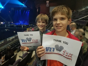 ARIELLE attended Jake Owen - Life's Whatcha Make It Tour - Country on Nov 3rd 2018 via VetTix