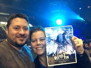 Sarah attended Jake Owen - Life's Whatcha Make It Tour - Country on Nov 3rd 2018 via VetTix