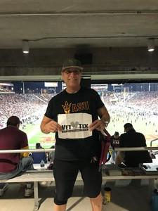 Angel attended Arizona State Sun Devils vs. Stanford - NCAA Football on Oct 18th 2018 via VetTix