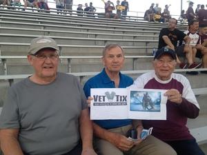 edward attended Arizona State Sun Devils vs. Stanford - NCAA Football on Oct 18th 2018 via VetTix