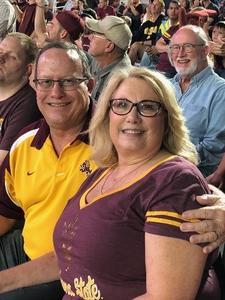 Richard attended Arizona State Sun Devils vs. Stanford - NCAA Football on Oct 18th 2018 via VetTix