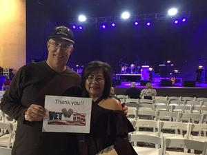 Howard attended Classic Albums Live Performs the Eagles Hotel California on Oct 27th 2018 via VetTix