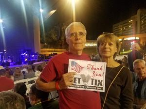 James attended Classic Albums Live Performs the Eagles Hotel California on Oct 27th 2018 via VetTix