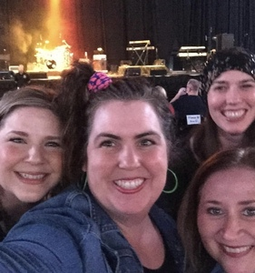 Nicholas attended Enjoy a Totally Awesome Night of 80s Hits With Ladies of the 80s Featuring Debbie Gibson, Lisa Lisa and Tiffany! on Oct 18th 2018 via VetTix
