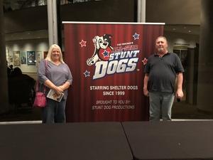 Deborah attended Stunt Dog Experience - Evening Show on Nov 3rd 2018 via VetTix