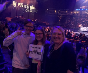 Sean attended Justin Timberlake - the Man of the Woods Tour - Pop on Oct 15th 2018 via VetTix