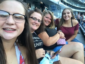 Loretta attended Justin Timberlake - the Man of the Woods Tour - Pop on Oct 15th 2018 via VetTix