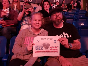 John attended Justin Timberlake - the Man of the Woods Tour - Pop on Oct 15th 2018 via VetTix