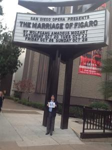 Frank attended The Marriage of Figaro on Oct 23rd 2018 via VetTix
