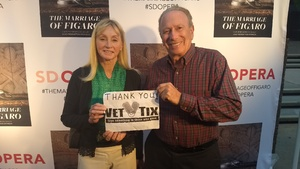 David attended The Marriage of Figaro on Oct 23rd 2018 via VetTix