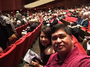Ferdinand attended The Marriage of Figaro on Oct 23rd 2018 via VetTix