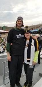 Mary Lee Marshman attended West Virginia Mountaineers vs. Baylor Bears - NCAA Football on Oct 25th 2018 via VetTix