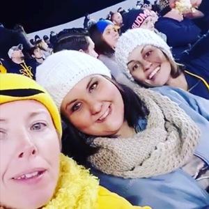 Blair attended West Virginia Mountaineers vs. Baylor Bears - NCAA Football on Oct 25th 2018 via VetTix