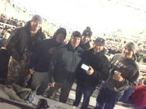 TODD attended West Virginia Mountaineers vs. Baylor Bears - NCAA Football on Oct 25th 2018 via VetTix