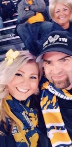 Gary attended West Virginia Mountaineers vs. Baylor Bears - NCAA Football on Oct 25th 2018 via VetTix
