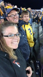 Dennis attended West Virginia Mountaineers vs. Baylor Bears - NCAA Football on Oct 25th 2018 via VetTix
