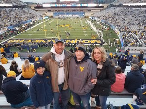 christopher attended West Virginia Mountaineers vs. Baylor Bears - NCAA Football on Oct 25th 2018 via VetTix